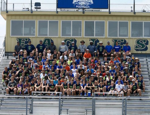IHS Football Hosts Two Day Youth Camp